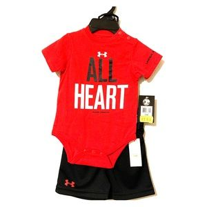 Under armor onsie 2 piece outfit